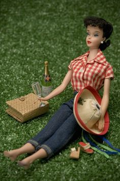 clearly me on a Sunday afternoon (I wish)    Picnic Barbie 8 x 12 Fine Art Photograph by nicolehouff on Etsy, $40.00