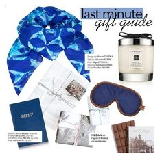"""Last minute gift guide"" by punnky ❤ liked on Polyvore featuring Jo Malone, TenOverSix, Sloane Stationery, OTIS BATTERBEE and Haute Hippie"