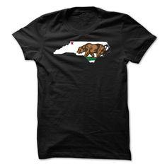 Californian but live in North Carolina T-Shirts, Hoodies. BUY IT NOW ==► https://www.sunfrog.com/Names/Californian-but-live-in-North-Carolina.html?id=41382