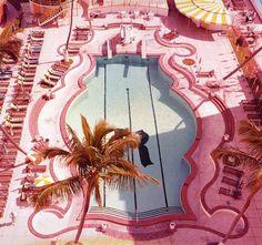 Pink Pool Miami Beach