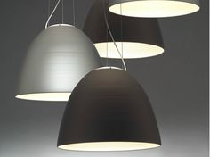 Luminária pendente de alumínio NUR by ARTEMIDE | design Ernesto Gismondi