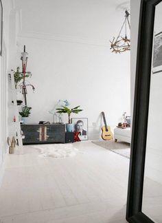 Espaces ouverts dans un petit appartement