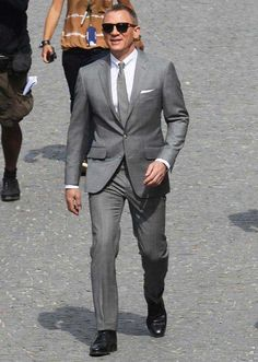 #JamesBond #DanielCraig #Grey #Skyfall #Suit Low price and delivery on time guaranteed. http://www.suitsofjamesbond.com/products/James-Bond-Daniel-Craig-Grey-Skyfall-Suit.html #mens #swag #sales #deals #shopping #mensfashion #clothing #cosplay #celebs #celeb