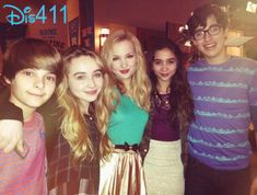 "Photos: ""Girl Meets World"" Cast Visited With Dove Cameron And Joey Bragg On Set Of ""Liv And Maddie"" March 21, 2014"