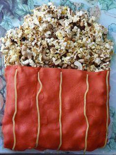Gateau pop corn Pop Corn, Cake Pop, Recipes