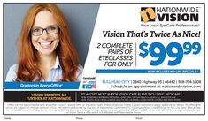 92263c5dcdf See the new year clearer with new glasses from Nationwide Vision 😎 Get 2  pairs for. ""