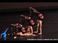 Stardust | Acro Trio by KaliAndrews Dance Company - YouTube