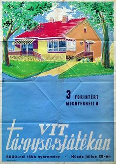 You can win it for 3 forints on the raffle of VIT (1960)