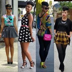 My style crush @_carmenalexandra Her style is EVERYTHING!!! #WCW #jewelsvintagecloset I Love Fashion, Trendy Fashion, Womens Fashion, Afro Punk Fashion, Fall Outfits, Cute Outfits, Vintage Closet, Her Style, Casual Wear