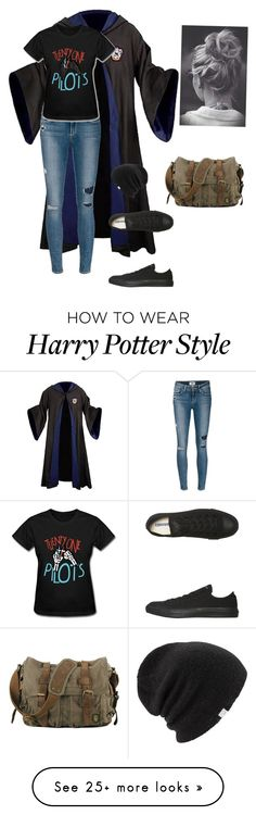 """*winks*"" by lilyflower723 on Polyvore featuring Paige Denim, Converse, Coal, women's clothing, women's fashion, women, female, woman, misses and juniors"
