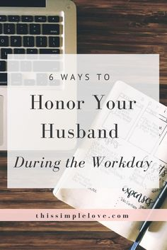 Find a balance between career and marriage by consciously connecting to your husband throughout your day. These small habits can make a big difference!
