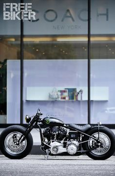 zero engineering knucklehead custom