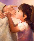 LDS images. At Jesus Knee