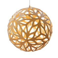 Floral 400 Bamboo Suspension Lamp - David Trubridge Design - Switch Modern