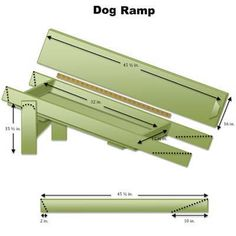 Free plans for dog ramp from deck google search dog for Elevator bed plans
