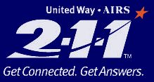 2-1-1 provides free and confidential information and referral. Call 2-1-1 for help with food, housing, employment, health care, counseling and more.