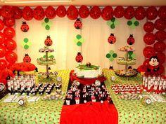 Decoração de Festas by Catia Lins: TEMAS: BONECA e JOANINHA