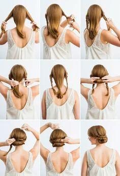 #diy hairstyle