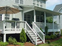 Covered Back Porch Designs   Once you step indoors you will immediately notice all the extra trim ...