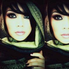 makeup Black eyeshadow /e/s