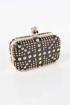 Loove this.. but I carry around too much crap to use this Studded Clutch bb1788d55dc02