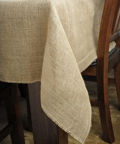 Not a bad price at all for this burlap tablecloth