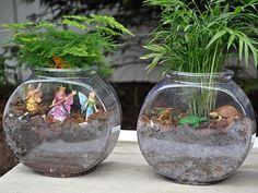 Fish Bowls   21 Simple Ideas For Adorable DIY Terrariums