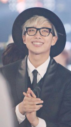 Rap Monster has the cutest/sexiest smile