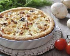 Quiche aux oignons et au poulet (facile, rapide) - Une recette CuisineAZ