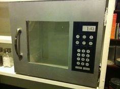 Microwave for DIY play kitchen