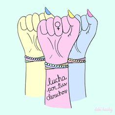 lucha por tus derechos, Debi Hasky