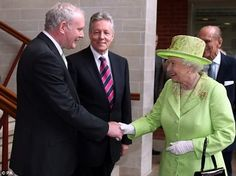 Queen's masonic handshake with McGuinness, page 1