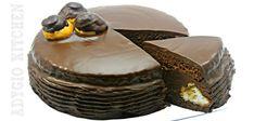 Tort Profiterol , o reteta de tort creativa care satisface orice mofturos. Acest Tort Profiterol este un desert fin cu blat ciocolatos