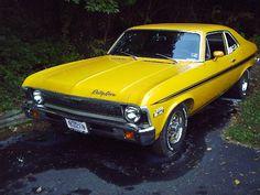 1971 Chevrolet Nova Rally