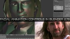 Creating Facial Controls in Blender 2.76 (With Exercise Files, Comes After Blend Shapes Course) ~ CG Masters