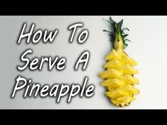You Will Never Cut Pineapple A Different Way Again
