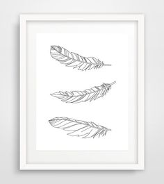 Like a Feather by Semi Vintage on Etsy