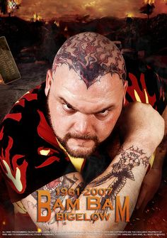 Wwf Superstars, Wrestling Superstars, Famous Wrestlers, Wwe Wrestlers, Watch Wrestling, Wrestling Wwe, Bam Bam Bigelow, Wwe Raw And Smackdown, Dad Pictures