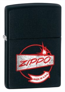 Sign Zippo lighter now available from Zippo UK now only £17.50 Black Matte. Packaged in an environmentally friendly gift box. Lifetime Guarantee.