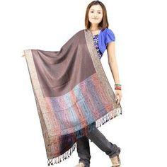 Designer Reversible Pure #Kashmiri Scarf Stole 141
