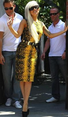 """Lady gaga dressed """"normal"""" they freak out more on that since they used to her wild wardrobe"""