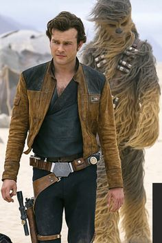 Han Solo and Chewie 2
