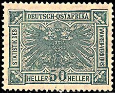 German East Africa 50H c1900