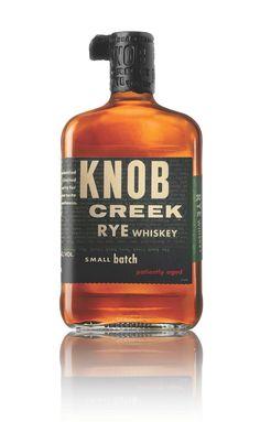 Knob Creek rye whisky... A new favorite!