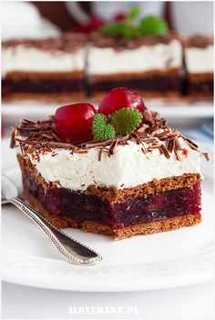 Archiwa: Bez pieczenia - Page 4 of 23 - I Love Bake Polish Desserts, Polish Recipes, Sweet Recipes, Cake Recipes, Dessert Recipes, Homemade Sweets, Happy Foods, Food Cakes, Special Recipes