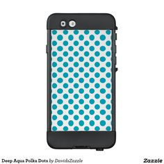 Deep Aqua Polka Dots Phone Case  Available on many products! Hit the 'available on' tab near the product description to see them all! Thanks for looking!  @zazzle #art #polka #dots #shop #iphone #case #phone #electronic #accessory #accessories #fashion #style #women #men #shopping #buy #sale #gift #idea #samsung #galaxy #apple #mac #ipad #tablet #computer #lifestyle #fun #sweet #cool #neat #modern #chic #laptop #sleeve #ipad #aqua #blue #light #dark #white