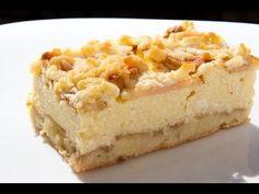 Strúhaný koláč s tvarohom a jablkami | Báječné recepty