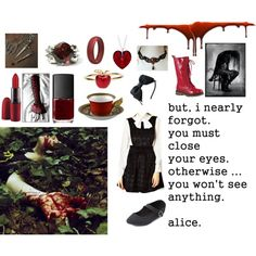 """""""Tea party with mad Alice"""" by fangirlinspace on Polyvore"""