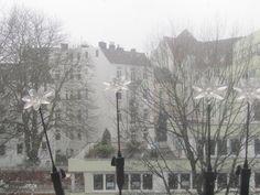 Martinistrasse im Winter