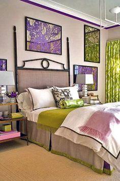 Роскошь фиолетового или Нестандартный интерьер для больших оригиналов